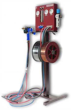 Установка газопламенного напыления ТОП-ЖЕТ/2 с пневмоприводом