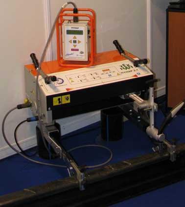 Автомат для наплавки рельсов ПУНАР, ExpoRail