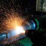 Электродуговая металлизация.Напыление шейки оси колесной пары
