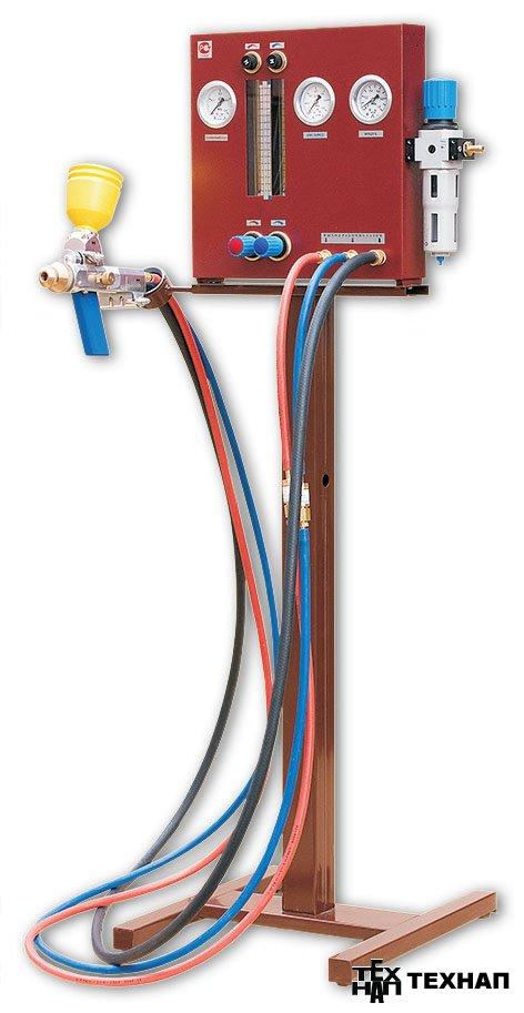 Установка газопламенного порошкового напыления МРК-10.